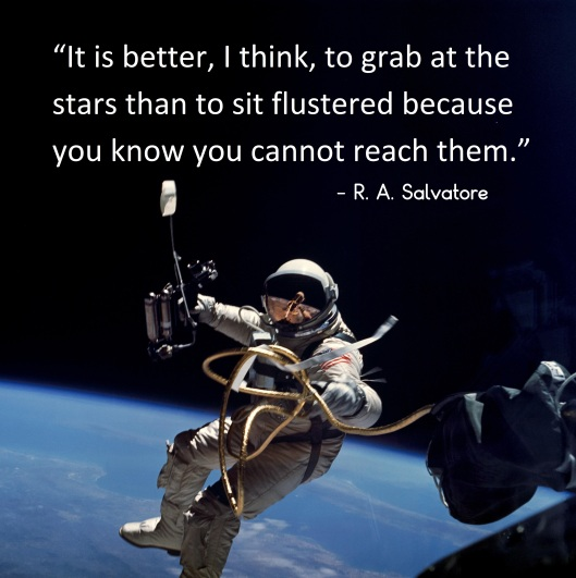 ed white on first space walk with Salvatore Quote
